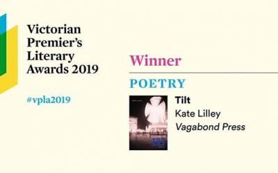 Winner of 2019 Victorian Premier's Award for Poetry
