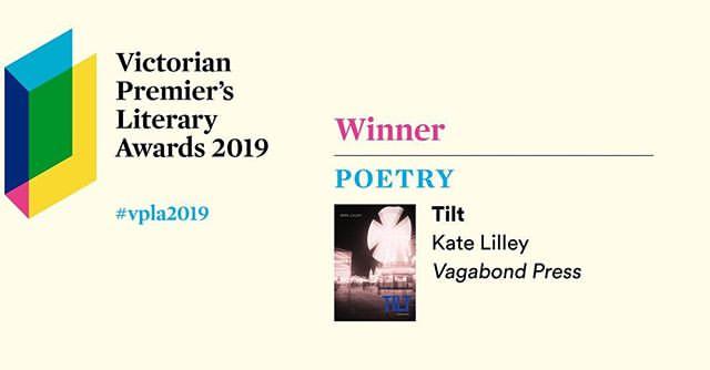 Winner of 2019 Victorian Premier's Award for Poetry