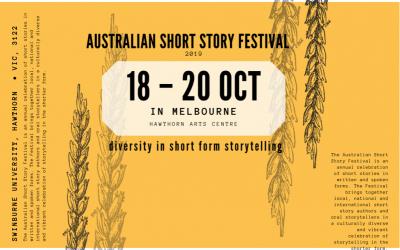 Australian Short Story Festival tickets now on sale