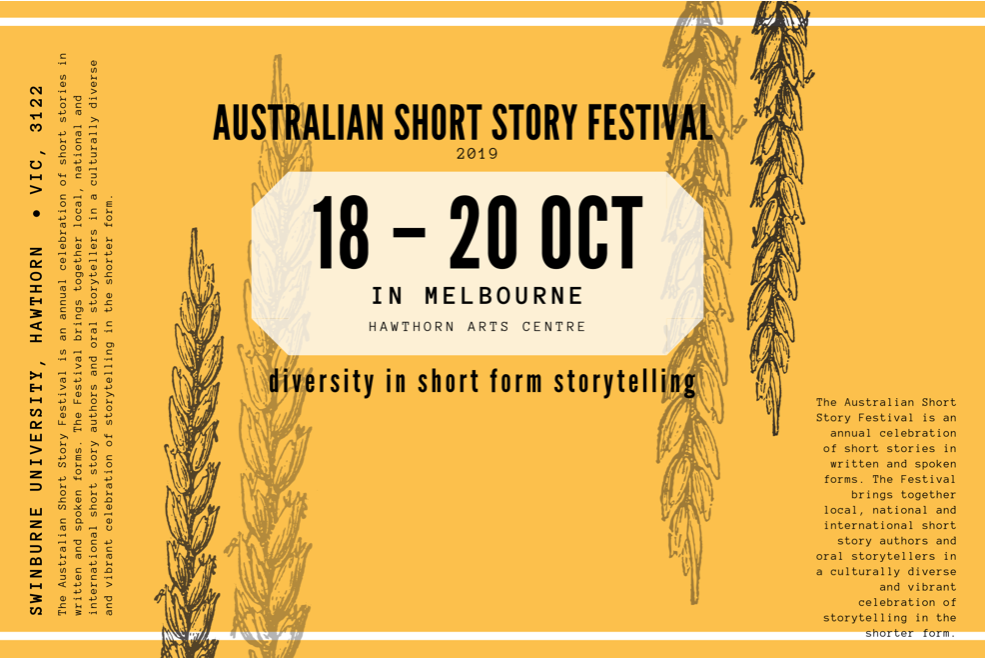 Australian Short Story Festival tickets now on sale